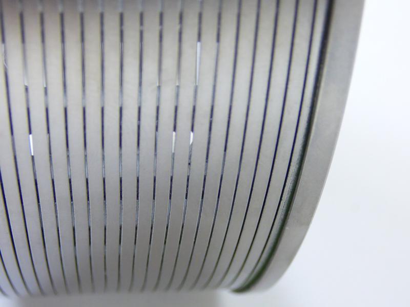 slot tube for bead mill