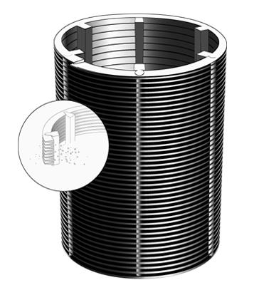 slot tube