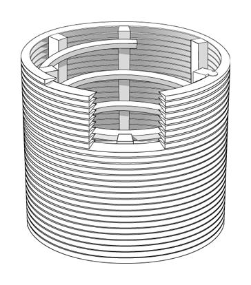 槽管 螺旋加强筋