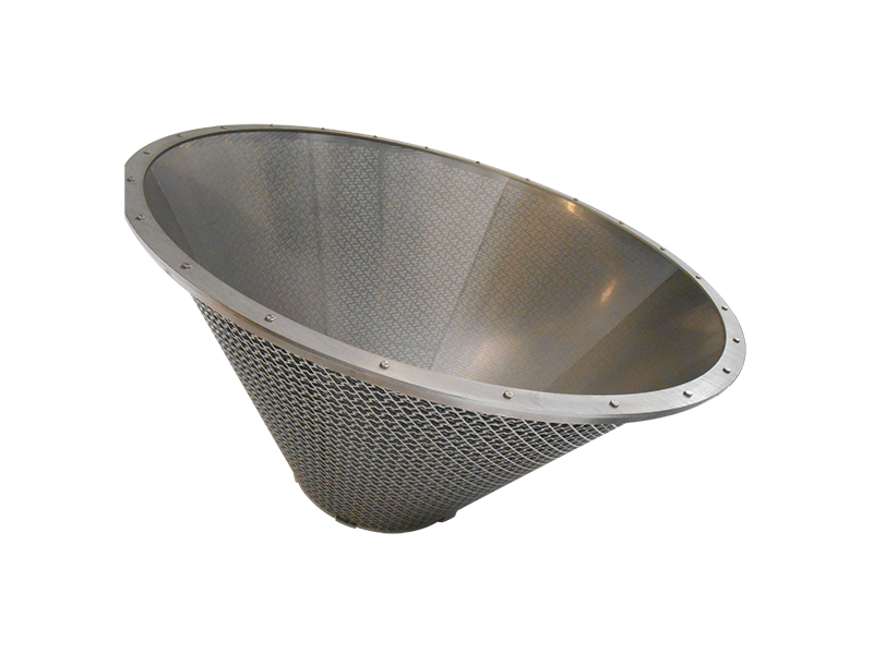 wedge wire cone
